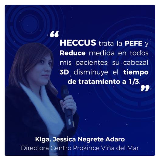 Klga. Jessica Negrete Adaro: Directora Centro Prokince Viña del Mar.